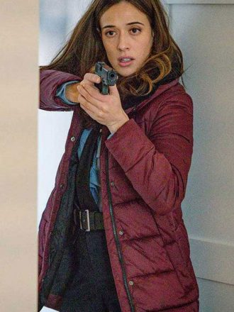 Chicago P.D. Kim Burgess Puffer Coat