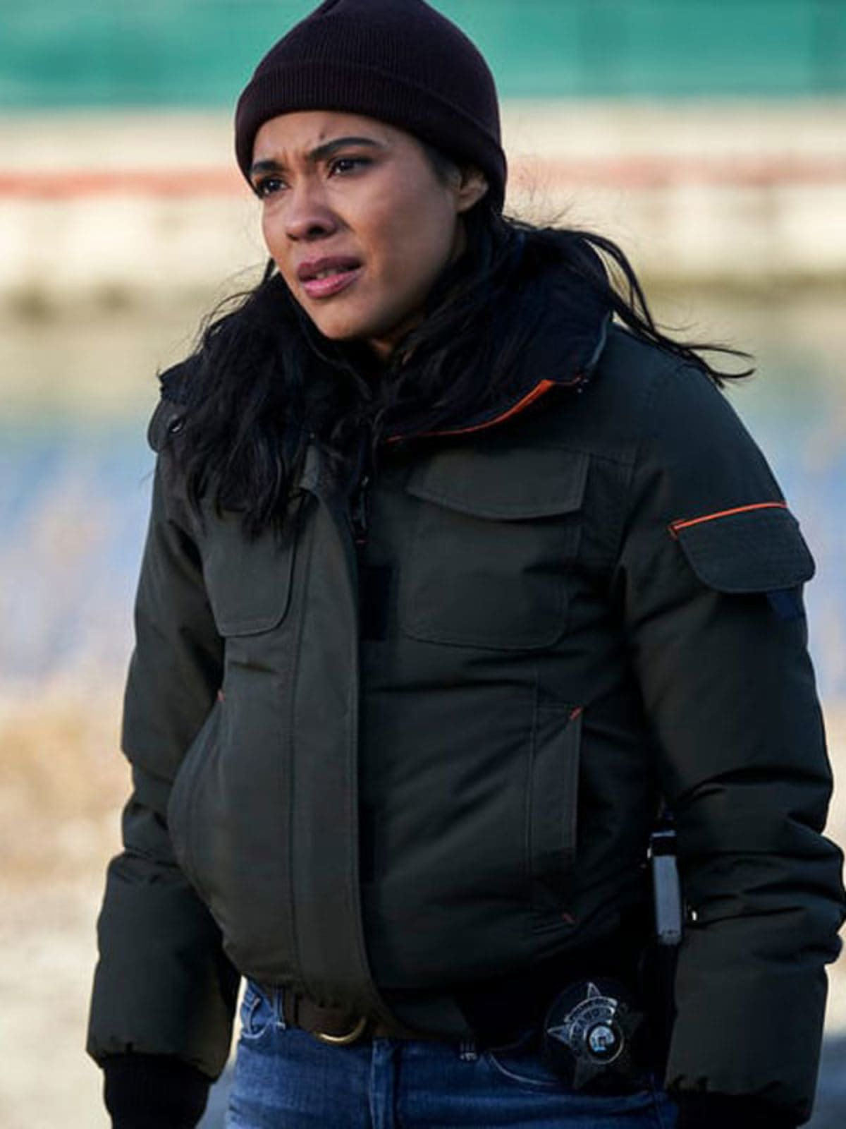 Chicago PD Vanessa Rojas S07 Bomber Jacket