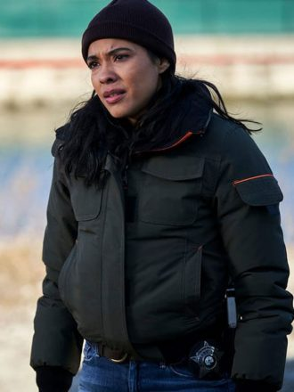 Chicago PD Vanessa Rojas S07 Bomber Jacket