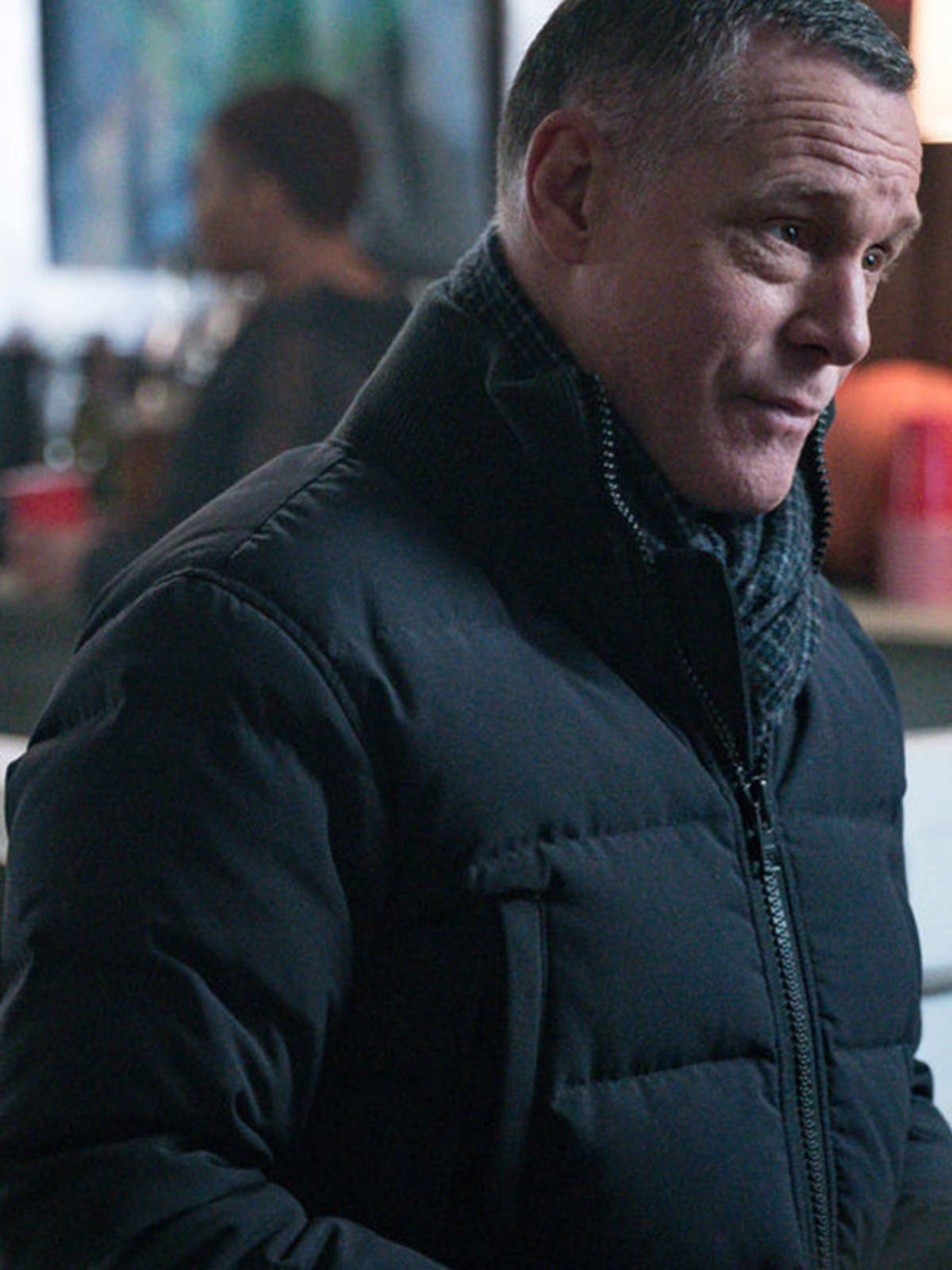 Jason Beghe Chicago P.D. Black Jacket