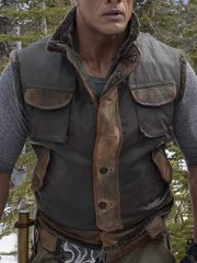 Jumanji The Next Level Classic Dwayne Johnson Leather Vest
