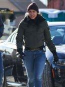 Lisseth Chavez Tv Series Chicago PD Vanessa Rojas Bomber Jacket