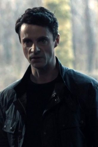 Matthew Goode A Discovery of Witches Matthew Clairmont Black Leather Jacket
