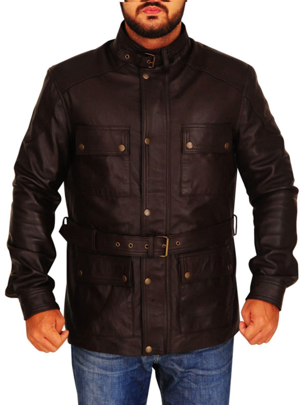 Ray McKinnon Leather Jacket
