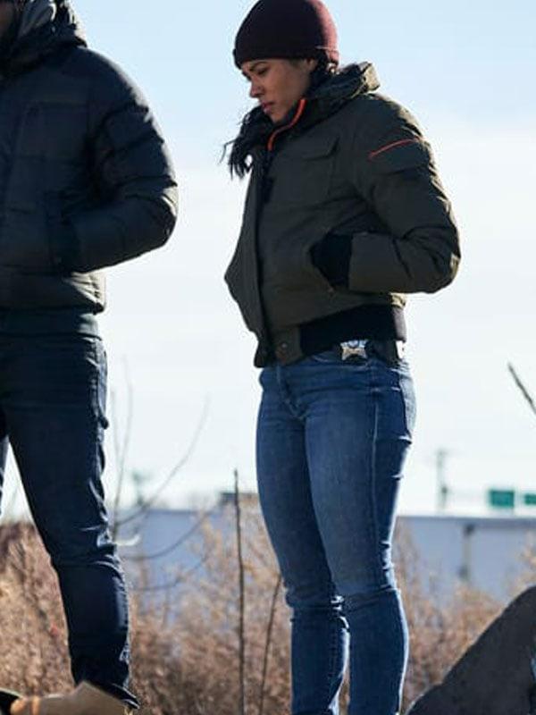 Tv Series Chicago PD S07 Vanessa Rojas Bomber Jacket