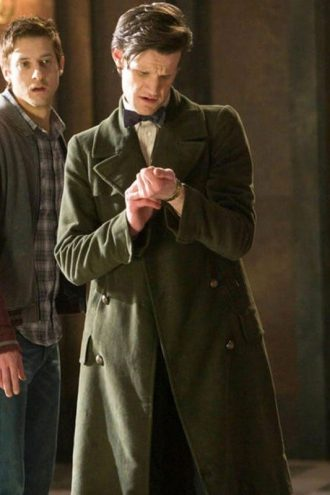 11th Doctor Marr Smith Trench Coat