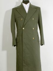 11th Doctor Who Green Trench Coat