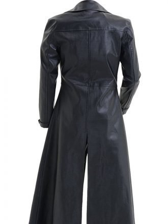 Albert Wesker Resident Evil 5 Black Leather Coat