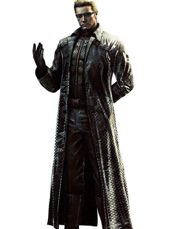 Albert Wesker Resident Evil 5 Leather Coat