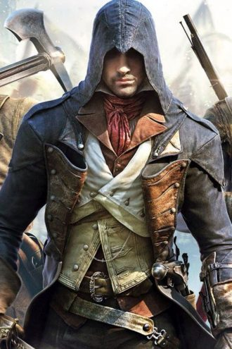 Arno Assassin Creed Unity Blue Coat