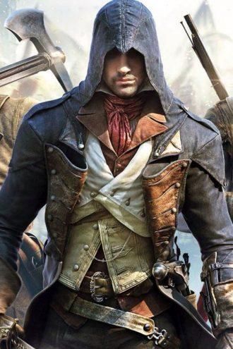 Arno Assassin Creed Unity Blue Coat
