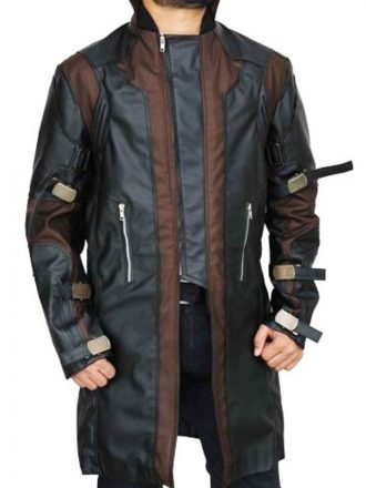 Clint Barton Avengers Age of Ultron Hawkeye Leather Coat