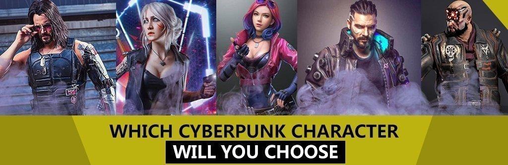 Cyberpunk Blog Banner Website