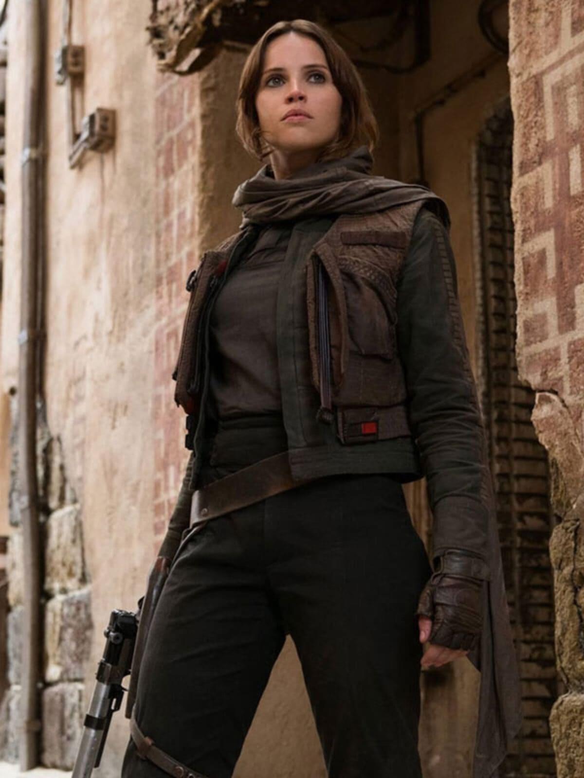 Felicity Jones Star Wars Rogue One Vest ...