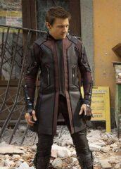 Jeremy Renner Avengers Age of Ultron Hawkeye Coat