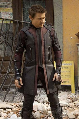 Jeremy Renner Avengers Age of Ultron Hawkeye Coat