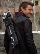 Jeremy Renner Leather Coat