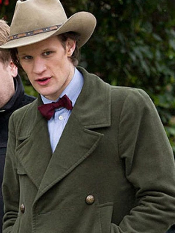 Marr Smith 11th Doctor Who Green Coat