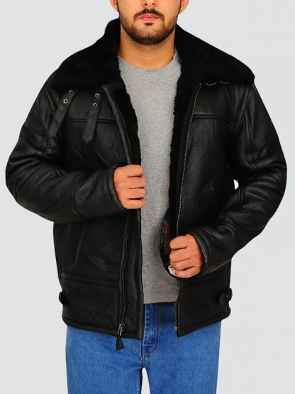 Mens Aviator Jacket