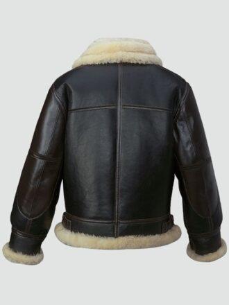 Mens Black Flying Leather Jacket
