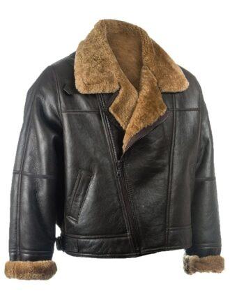 Mens Black Leather Jacket