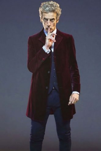 Peter Capaldi Twelfth Doctor Velvet Coat