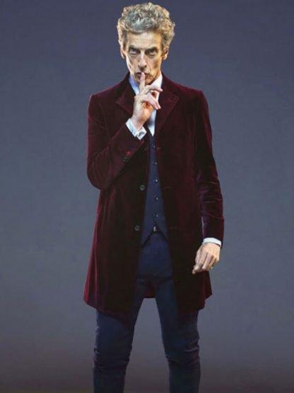 Peter Capaldi Twelfth Doctor Velvet Coat