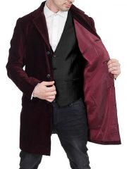 Peter Capaldi Velvet Coat