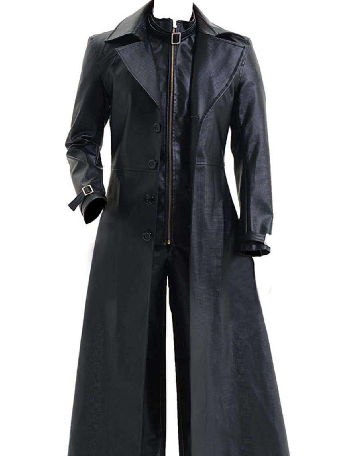 Resident Evil 5 Albert Wesker Trench Coat