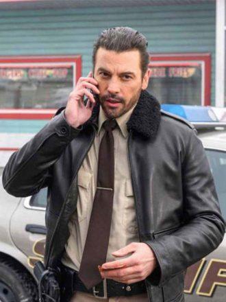 Riverdale Season 3 FP Jones Fur Collar Leather Jacket