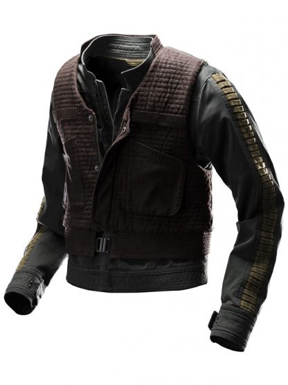 Rogue One Star Wars Story Jyn Erso Vest Jacket