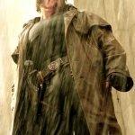 Ron perlman Hellboy Trench Coat