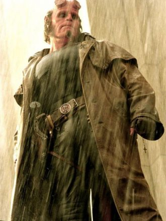 Ron perlman Hellboy Trench Coat