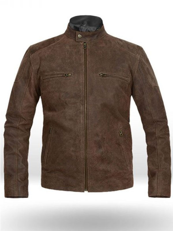 Steve Rogers Captain America Brown Leather Jacket