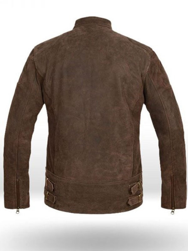 Steve Rogers Civil War Leather Jacket