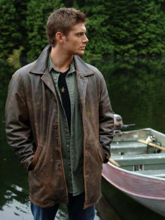 Supernatural Dean Winchester Distressed Leather Coat