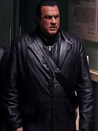 Tao Against the Dark Black Leather Coat