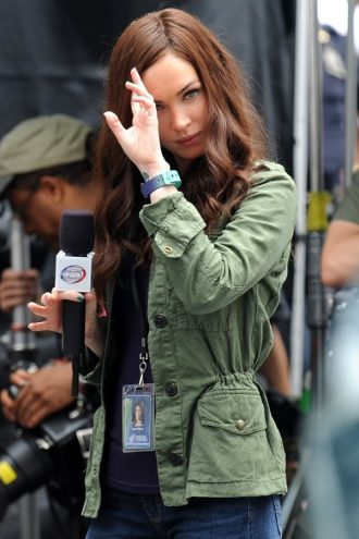 Teenage Mutant Ninja Turtles 2 Megan Fox Green Jacket