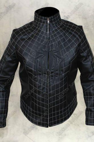 The Amazing Spider Man 2 Black Leather Jacket
