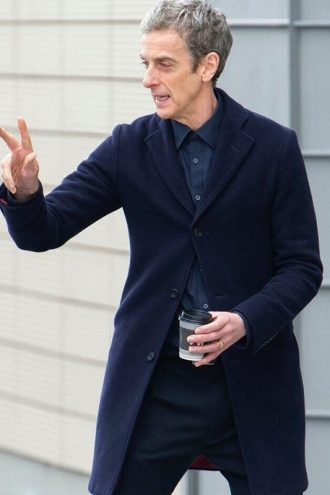 Twelfth Doctor Peter Capaldi Wool Coat