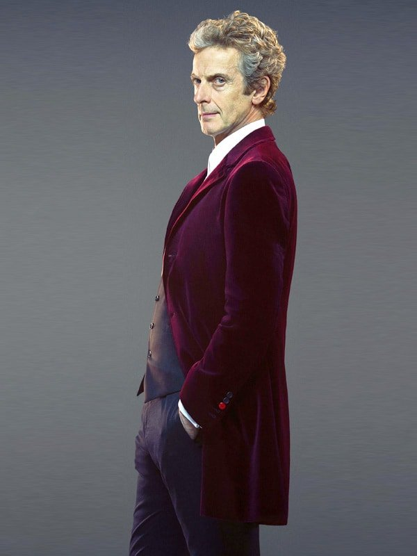 Twelfth Doctor Who Velvet Coat