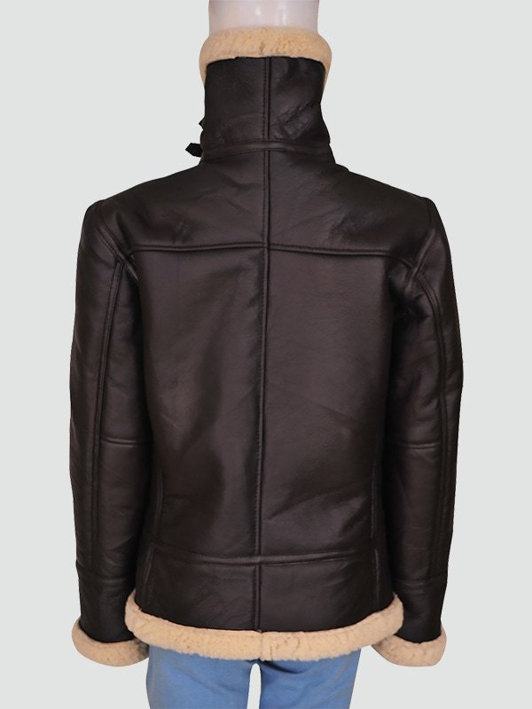 Women Brown Bomber Jacket