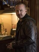 Aaron Paul El Camino A Breaking Bad Brown Leather Jacket