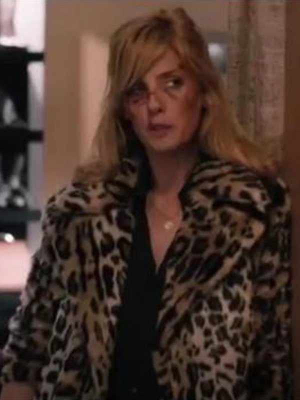 Beth Dutton Yellowstone S02 Cheetah Coat