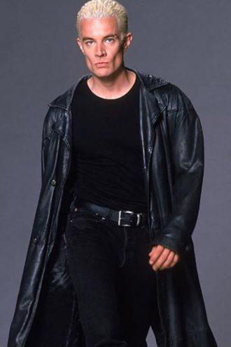 Buffy The Vampire Slayer James Marsters Black Trench Coat
