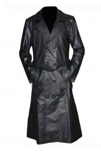 Buffy The Vampire Slayer Spike Black Leather Coat