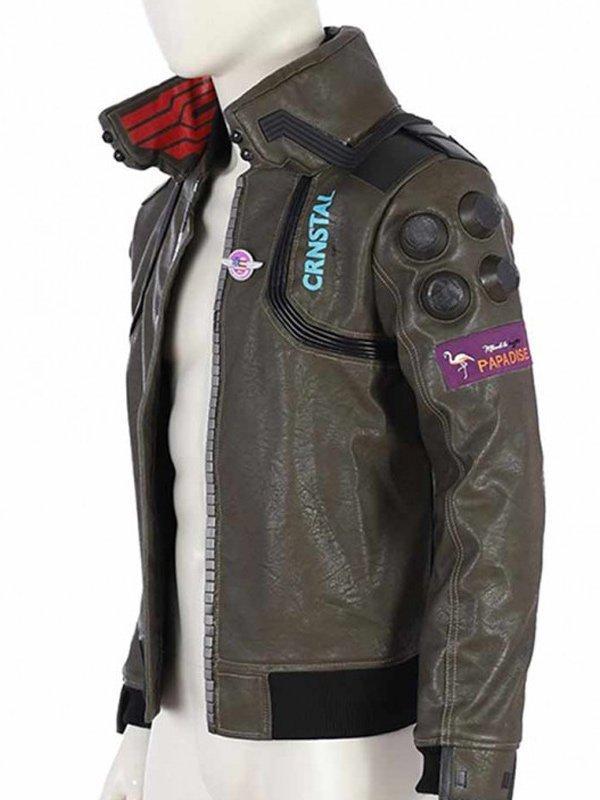 Cyberpunk 2077 Brown Jacket
