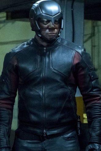 David Ramsey Arrow S06 Biker Leather Jackett