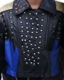 Descendants 3 Studded Leather Coat