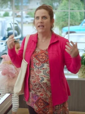 Donna Lynne Feel The Beat Pink Jacket